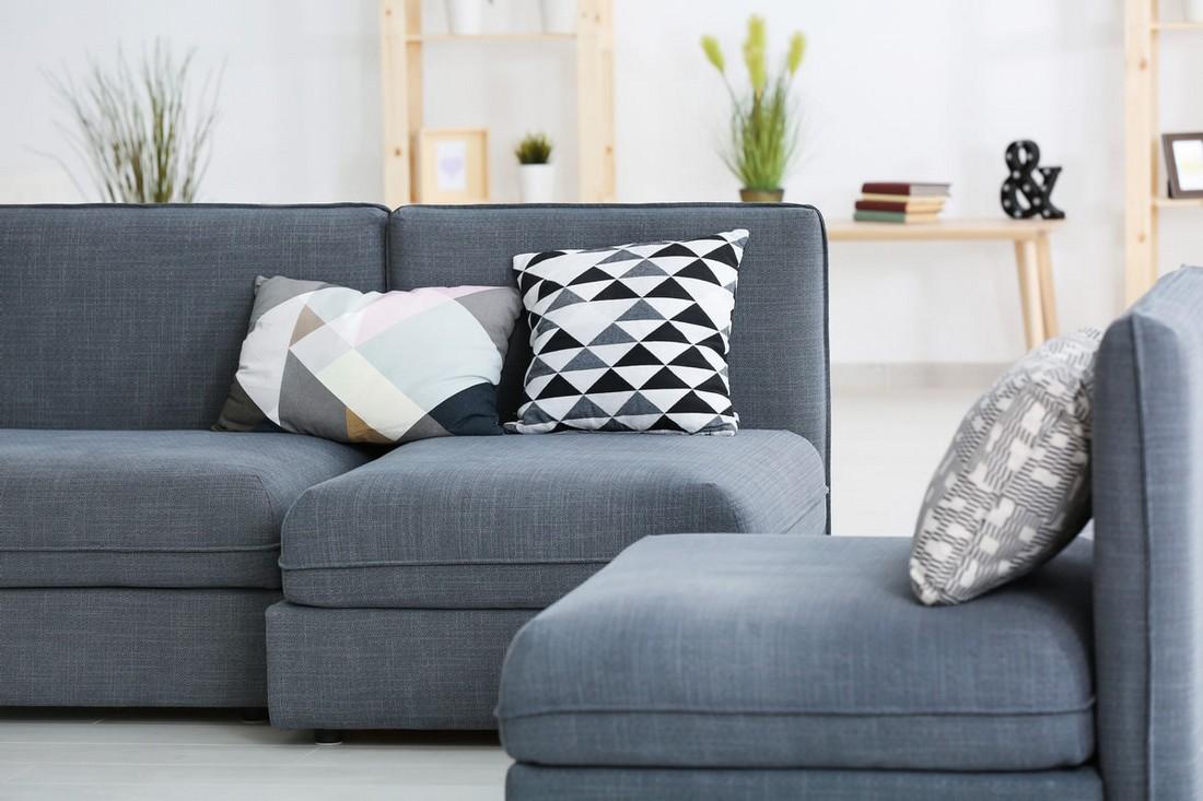 Как обновить диван без перетяжки: бюджетная реставрация