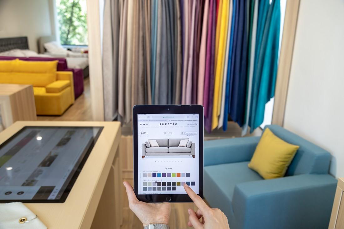 выбор ткани для дивана