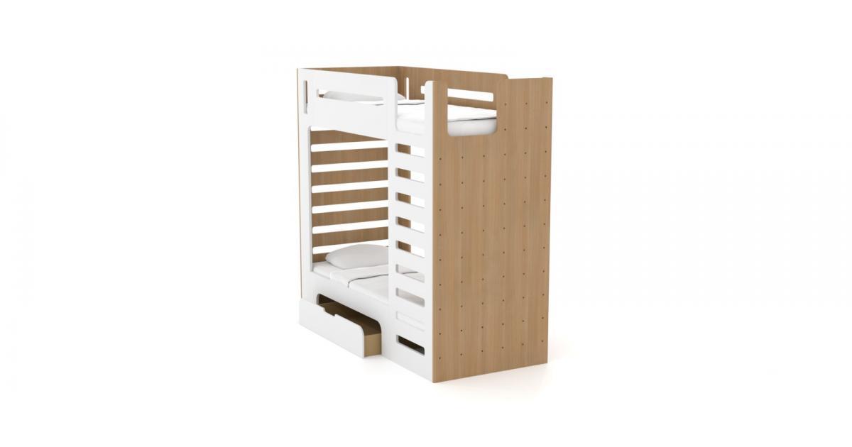 Двох'ярусне ліжко дитяче CuRocks
