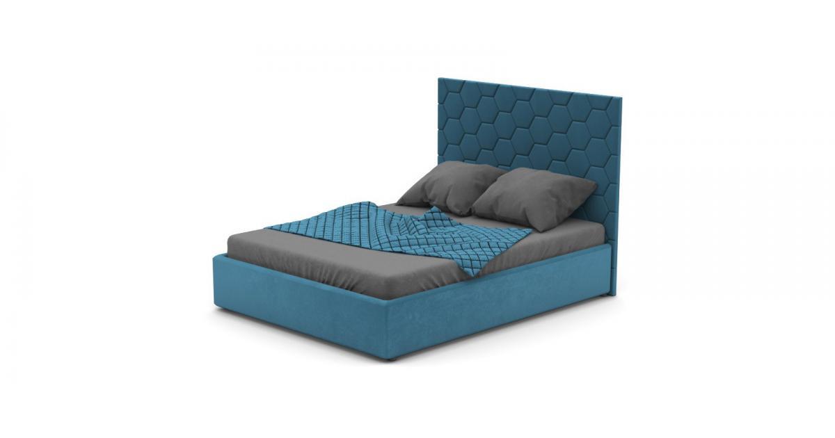 Кровать Senza со стеновыми панелями