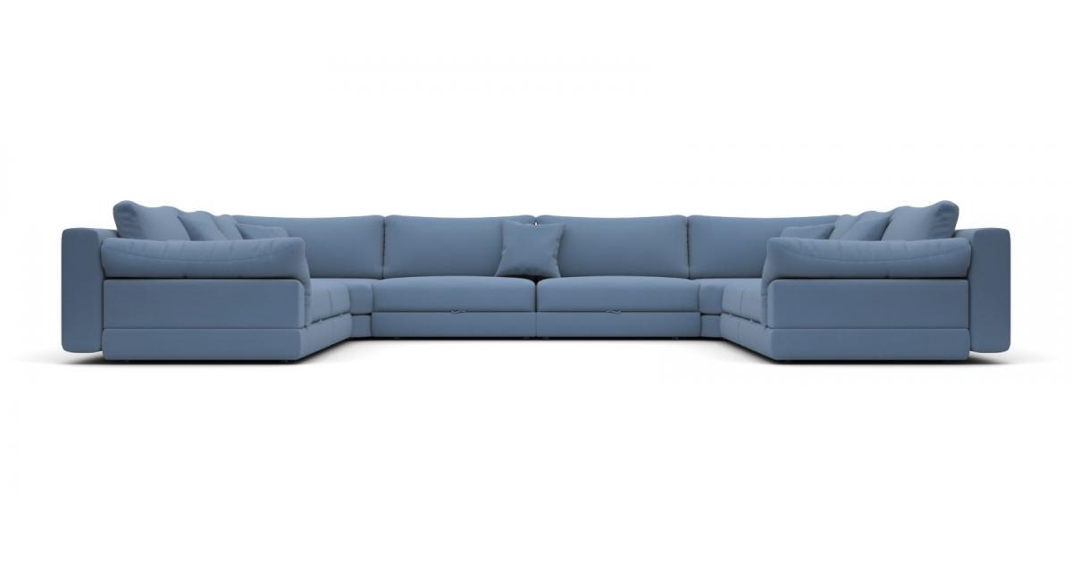 Модульный диван Claudia 440x355