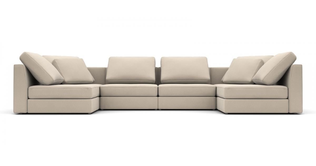 Модульный диван Lisboa 396x198