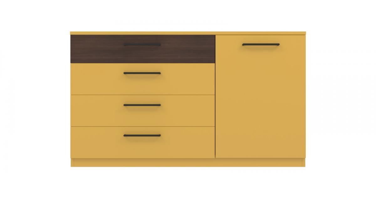 Комод Arino с 4 ящиками и дверцей