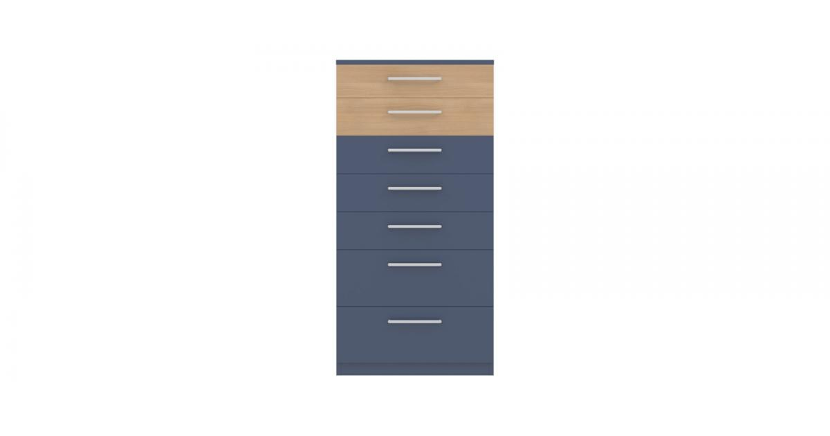 Комод Arino с 7 ящиками